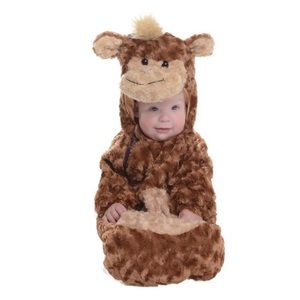 2T-4T Underwraps Monkey Bunting Infant Costume